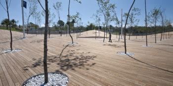 Thermowood fenyő teraszburkolatok és szerkezet fák